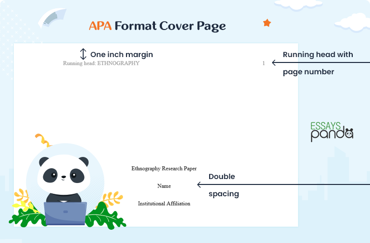 APA Format Cover Page