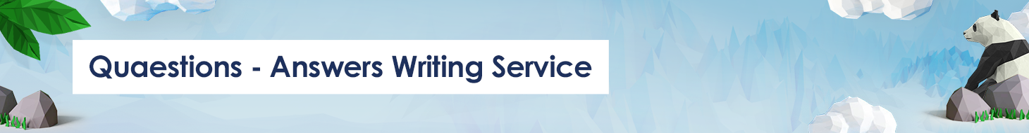 quaestions-answers writing service