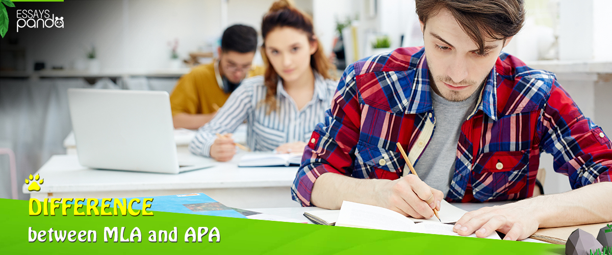 The difference between MLA and APA