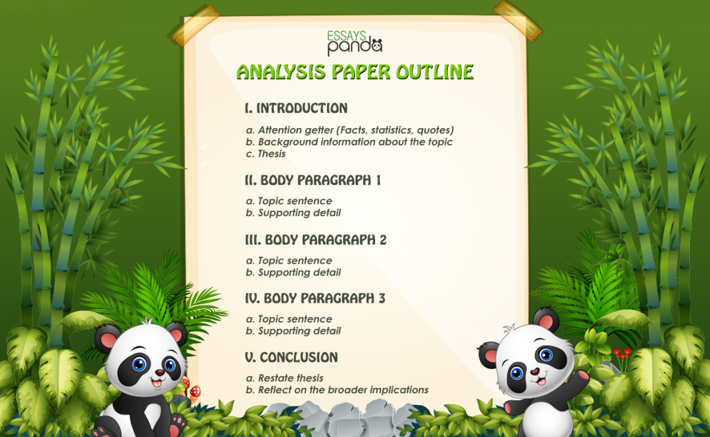 Analysis Paper Outline