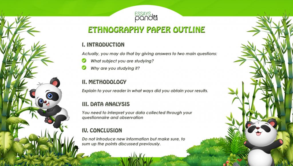 Ethnography Paper Outline